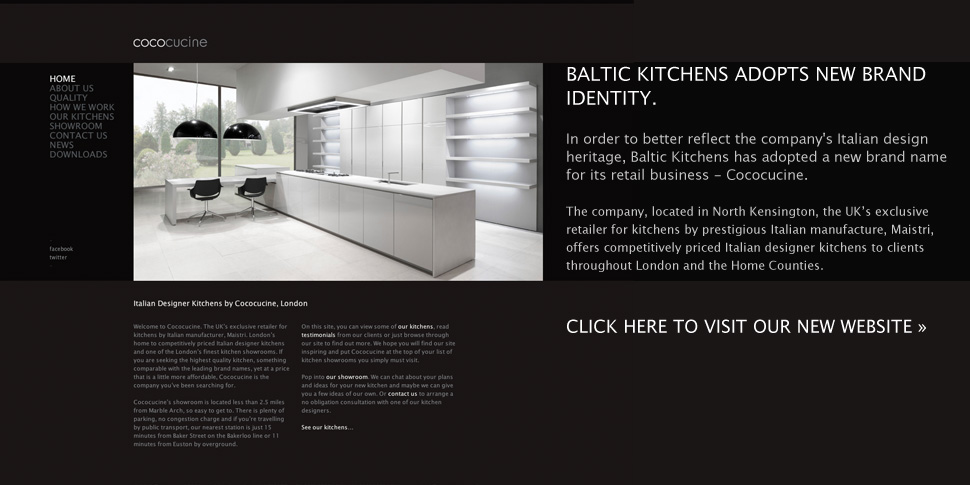 Baltic Kitchens design, supply and install affordable Italian designer kitchens